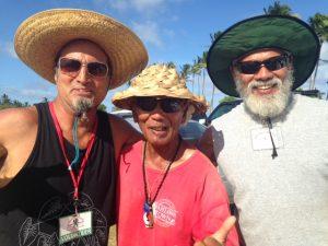 Bruddahs Leoni, Alan + Corey Heiva 2015